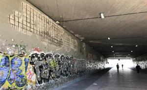 Reclaman medidas urgentes en el túnel de Ansio, dos meses después de los desprendimientos