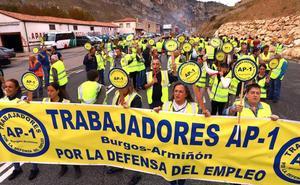 Un centenar de afectados por la liberalización de la AP-1 se hace oír