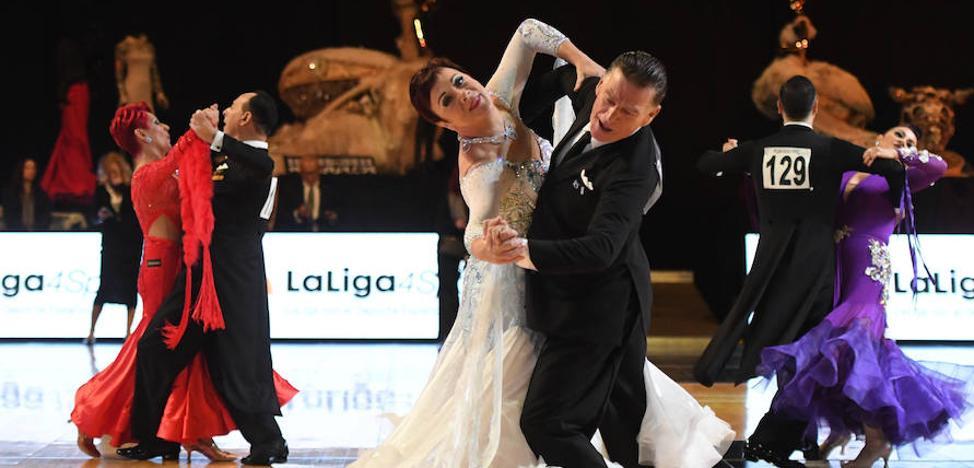 Los ases del baile deportivo mundial danzan en Miribilla