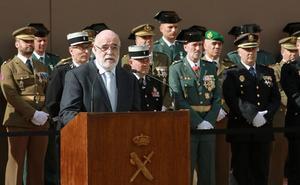 Jesús Loza asegura que el Gobierno del PSOE mantendrá a la Guardia Civil en Euskadi