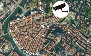 43 cámaras multarán a los vehículos que se cuelen en las zonas peatonales de Bilbao