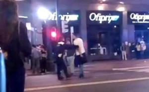 Una pelea en la Rock Star de Bilbao se salda con un joven y un policía municipal heridos