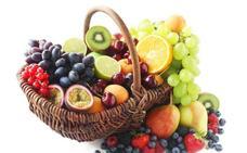 Dé ejemplo, coma fruta