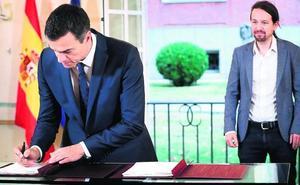 Bruselas decidirá en quince días si tumba el presupuesto pactado por Sánchez e Iglesias