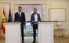 Sánchez se vale del acuerdo con Podemos para alejar el fantasma de un adelanto electoral