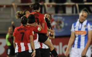 Lucía fue la luz del Athletic en el derbi