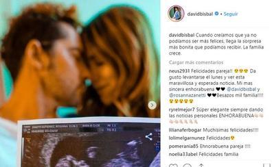 Bisbal y Rosanna Zanetti esperan su primer hijo