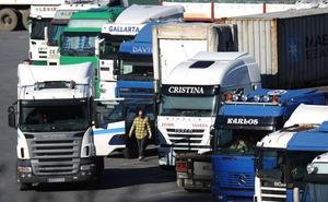 Camioneros vascos en el limbo laboral