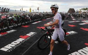 Vigésimo cuarto puesto para Gurutze Frades en un Ironman muy accidentado