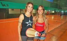 Nagore Martín y María Sáez debutan en el mundial de pelota de Barcelona