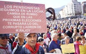 Los pensionistas vizcaínos apoyan el acuerdo presupuestario de PSOE y Podemos, pero advierten de que «no es suficiente»