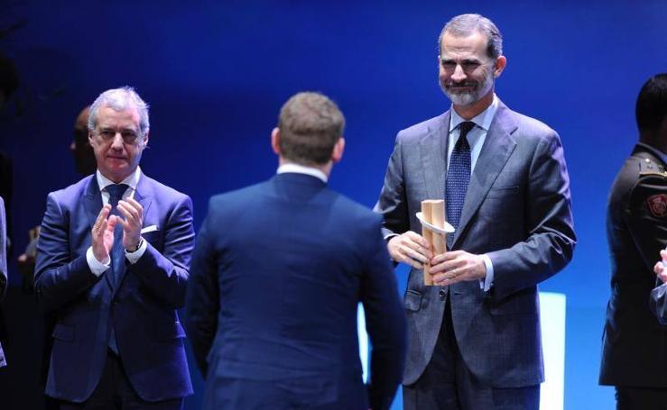 El Rey, en Bilbao para la entrega de los premios Novia Salcedo