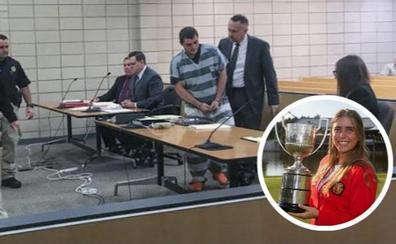 El acusado de asesinar a la golfista cántabra declara ante el juez que es inocente