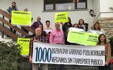 Vecinos de Isuskitza reclaman un autobús que les conecte con Plentzia