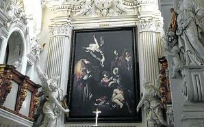 Medio siglo del robo de la 'Natividad' de Caravaggio
