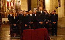 Los Reyes asisten a la misa por la víctimas del temporal de Mallorca