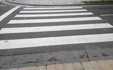 La reducción de la velocidad y los nuevos pasos de cebra atajan los atropellos en Basauri