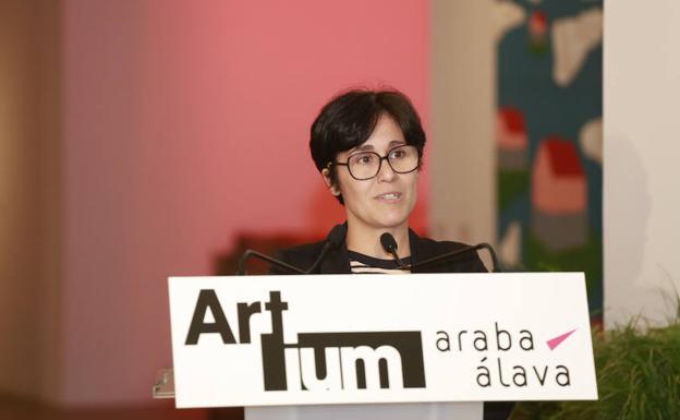 Beatriz Herráez, nueva directora de Artium./Blanca Castillo