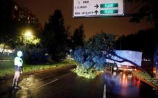 La gota fría más potente de la última década deja más de 540 avisos de emergencia