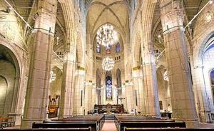 Leds para resaltar el arte de la catedral de Santa María