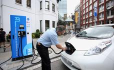 Euskadi solo tiene nueve puntos de recarga rápida de vehículos eléctricos