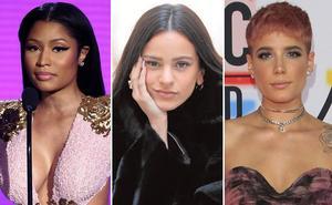 Nicki Minaj, Rosalía y Halsey, tres divas para la gala de MTV en el BEC