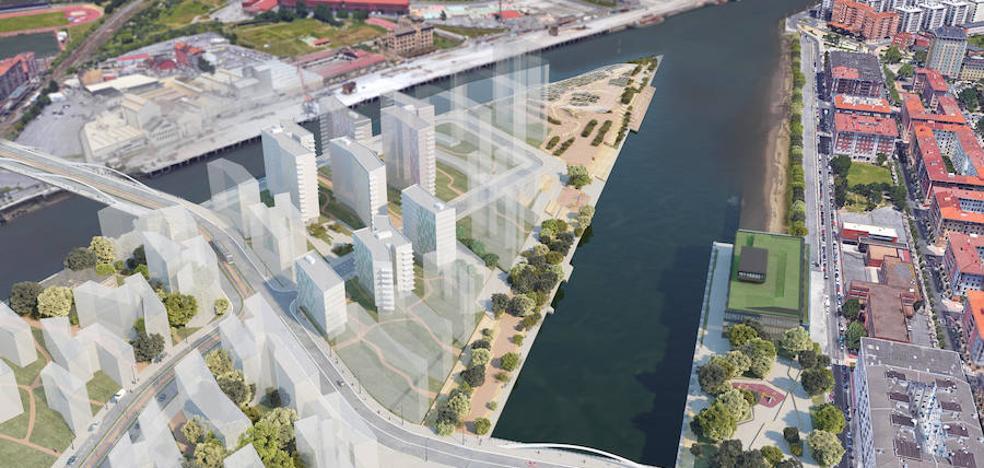 Los primeros pisos de Zorrozaurre costarán 345.000 euros