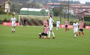Cuatro minutos fatales sentencian al Bilbao Athletic