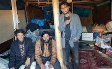 Seis meses viviendo en una chabola en Lamiako