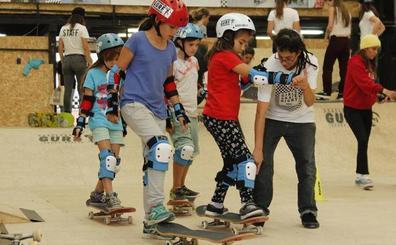 Skate para chicas en Bilbao