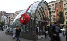 El metro se engalana para la MTV