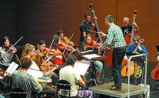 Un estreno absoluto en manos de la orquesta Andrés Egiguren