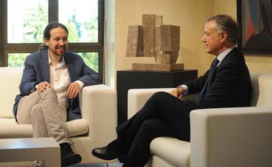 Urkullu e Iglesias comparten la necesidad de blindar la legislatura de Sánchez