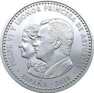 Ya está disponible la polémica moneda con la imagen de Leonor