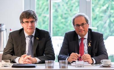 Torra y Puigdemont pondrán en marcha el consejo de la república el día 30