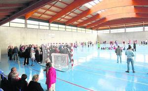 Valdegovía completa sus infraestructuras de ocio con un nuevo polideportivo