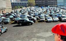 Uno de cada diez vehículos que arrastra la grúa de Bilbao termina en el desguace