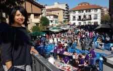 Sonia Rodríguez, aspirante del PNV a la Alcaldía de Arrigorriaga