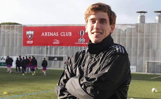 Aitor Ramos posa en Gobela. /Pedro Urresti