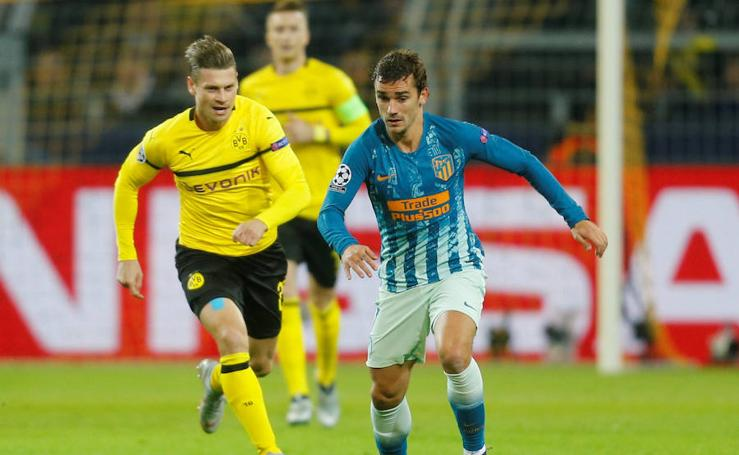 Las mejores imágenes del Borussia Dortmund-Atlético