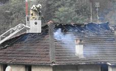 Cuatro familias desalojadas tras un incendio en un edificio de Arrigorriaga