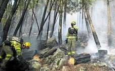 El año con menos incendios desde 1963
