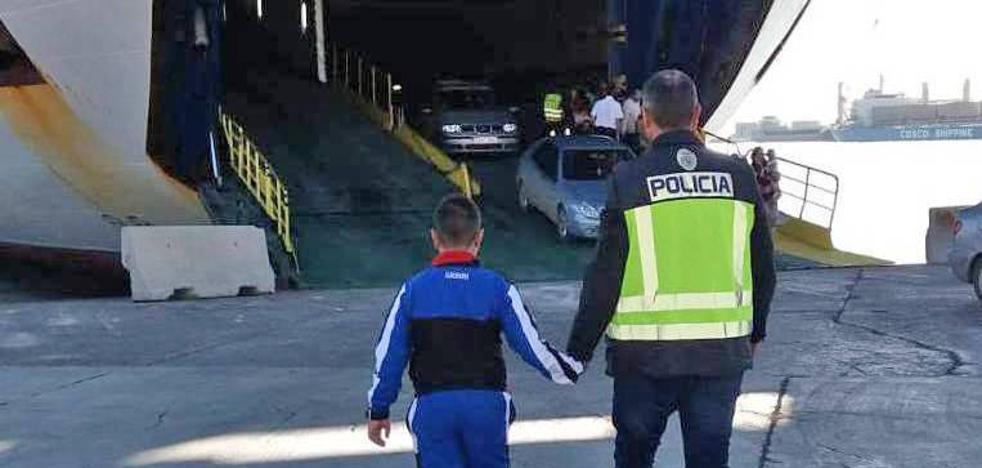 La Policía recupera en Argelia al segundo menor raptado por su padre en Vitoria