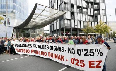 Pensionistas vizcaínos piden un «plan de choque» contra la pobreza energética