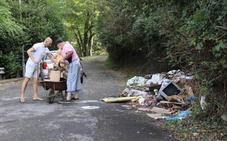Denuncian el «estado de abandono» de un barrio de Arrigorriaga