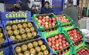 Hacienda ve indicios de fraude fiscal en mayoristas de frutas y verduras de Mercabilbao
