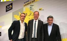 El Euskadi-Murias se deja ver en la presentación del Tour