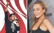 Bastille y Lindsay Lohan, nuevos rostros en la gala de los MTV
