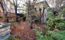 Miranda recuperará el jardín de la Casa de Don Lope con la Escuela Taller para hacerlo accesible