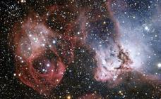 Colisionan dos galaxias satélite de la Vía Láctea